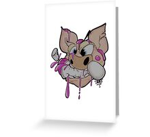 Don't Feed the Pigs... Greeting Card