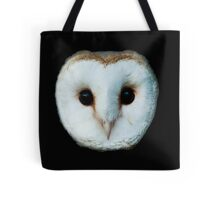 The Face of a Barn Owl Tote Bag