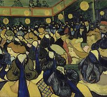Vincent van Gogh - The Dance Hall in Arles - 1888 by forthwith