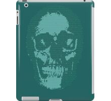 Techno Cyberpunk Cool Creepy Retro AI iPad Case/Skin