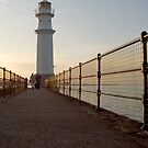 Newhaven Lighthouse by miclile