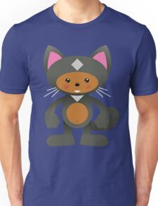 Manga - Cute Gray Kitty Cat! Unisex T-Shirt