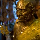 Gold leaf Monk by Cvail73