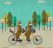 foxy days by bri-b