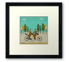 foxy days Framed Print