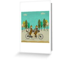 foxy days Greeting Card