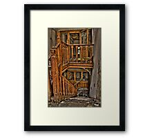 The Grand Staircase Framed Print