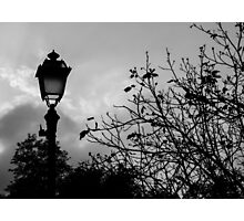 When the lights are down  Photographic Print