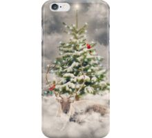 All Is Calm. All Is Bright. (Winter Guardian / Winter Reindeer - Day) iPhone Case/Skin