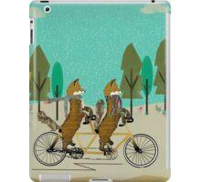 foxy days iPad Case/Skin