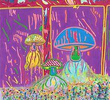 Mushroom Jellyfishes by Terry Ryan