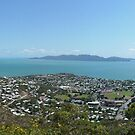 Townsville from the Castle by Jayson Gaskell