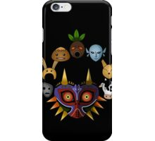 Lots of masks! iPhone Case/Skin