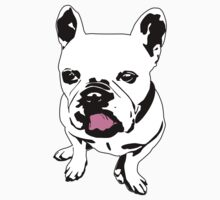 french bulldog licking his lips T-Shirt