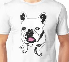 french bulldog licking his lips Unisex T-Shirt