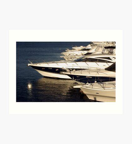 Million Dollar Marina Art Print