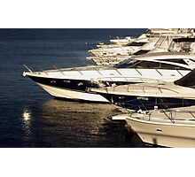 Million Dollar Marina Photographic Print