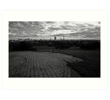 London view from Primrose Hill Art Print