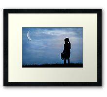 Moonbeam Framed Print