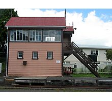 TRAIN STATION RETRO Photographic Print