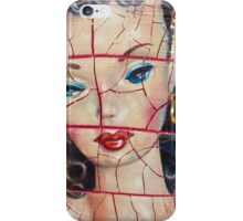 """Nothing to Fix"" (Vintage Barbie) series:IMPLOSION iPhone Case/Skin"