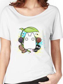 Chibi Totoro Women's Relaxed Fit T-Shirt