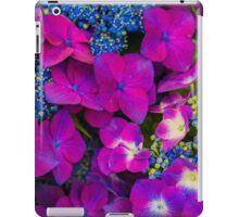 Streptocarpus Purple and Blue Bouquet  iPad Case/Skin