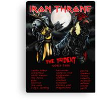 Iron Throne Tour Canvas Print