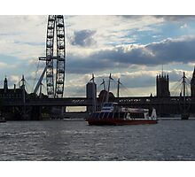 A riverside view to the eye Photographic Print