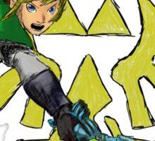 Link - The Legend of Zelda: Skyward Sword Sticker