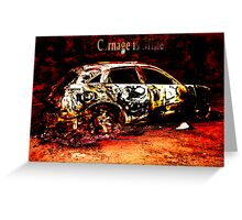 carnage is mine Greeting Card