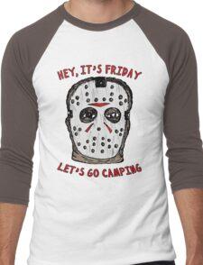 Friday Camping Men's Baseball ¾ T-Shirt