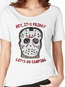 Friday Camping Women's Relaxed Fit T-Shirt