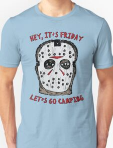 Friday Camping Unisex T-Shirt