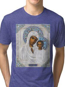 Russian icon  Tri-blend T-Shirt