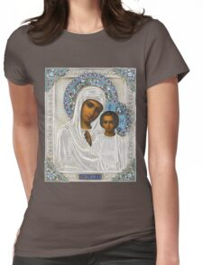 Russian icon  Womens Fitted T-Shirt