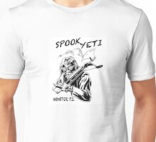 Spook Yeti, Monster P.I. Unisex T-Shirt