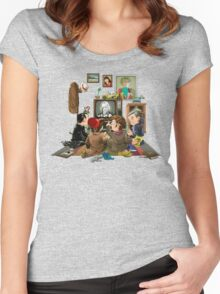 50 Years of The Doctor Women's Fitted Scoop T-Shirt