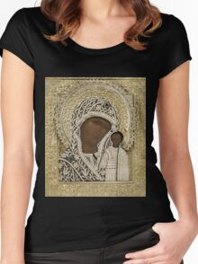 Russian Icons Women's Fitted Scoop T-Shirt