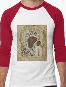 Russian Icons Men's Baseball ¾ T-Shirt