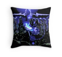 The Birth by LUCORE Throw Pillow