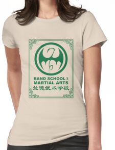Rand School of Martial Arts Gold Class Womens Fitted T-Shirt