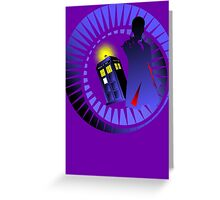 12TH IN THE TIME VORTEX  Greeting Card