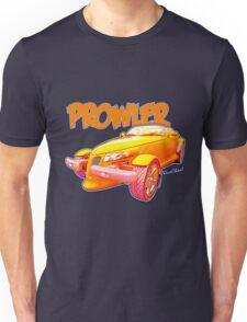 Cartoon Prowler from VivaChas Hot Rod Art! Unisex T-Shirt