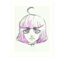 space girl. Art Print