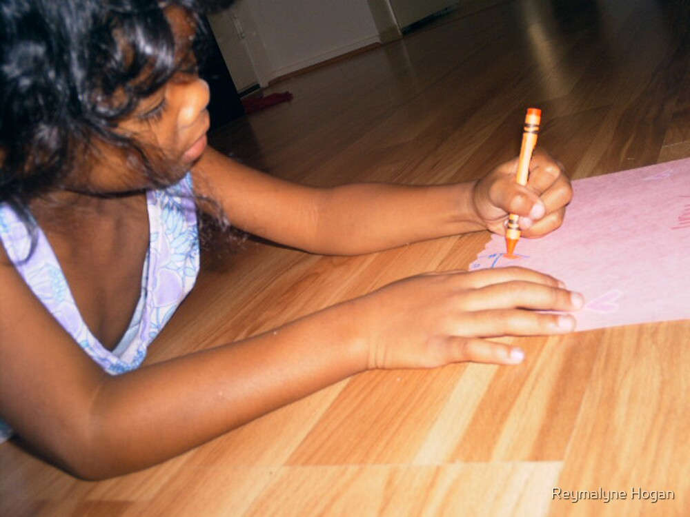 concentration by Reymalyne Hogan