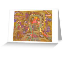 The Cooperage Greeting Card