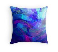The Other Side of Manic Throw Pillow