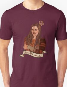 Molly Hooper: Queen of his mind palace Unisex T-Shirt