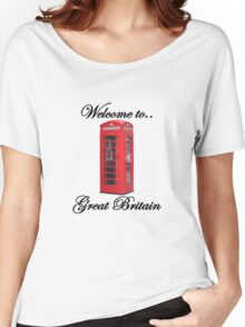Welcome to Great Britain Women's Relaxed Fit T-Shirt